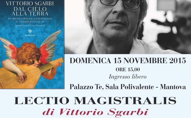 Lectio magistralis di Vittorio Sgarbi