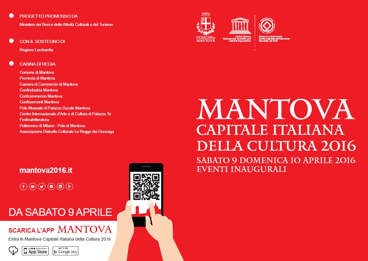 Programma di Mantova Capitale Italiana della Cultura 2016