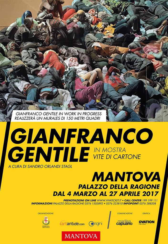 Vite di cartone – Mostra di Gianfranco Gentile a Mantova