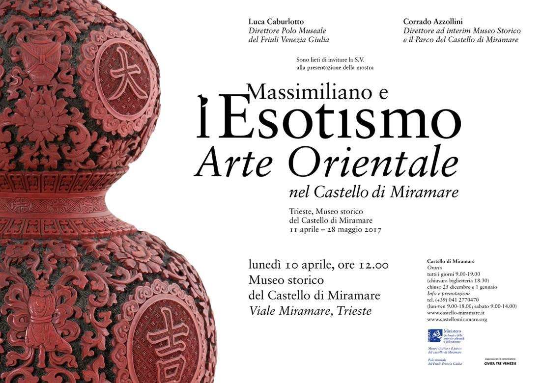 Mostra Massimiliano e l'esotismo: Arte Orientale nel Castello di Miramare