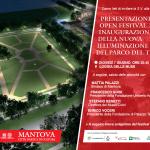 Open festival e inaugurazione illuminazione parco del te