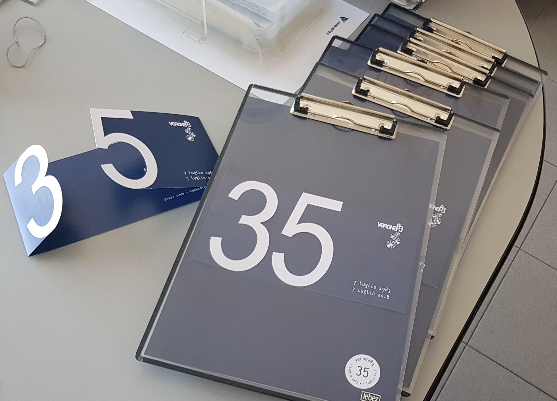 I nostri numeri in 35 anni