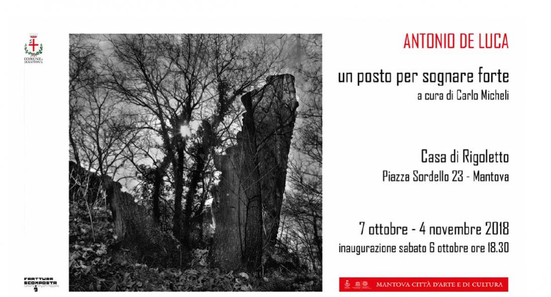 Mostra fotografica UN POSTO PER SOGNARE FORTE  di Antonio de Luca