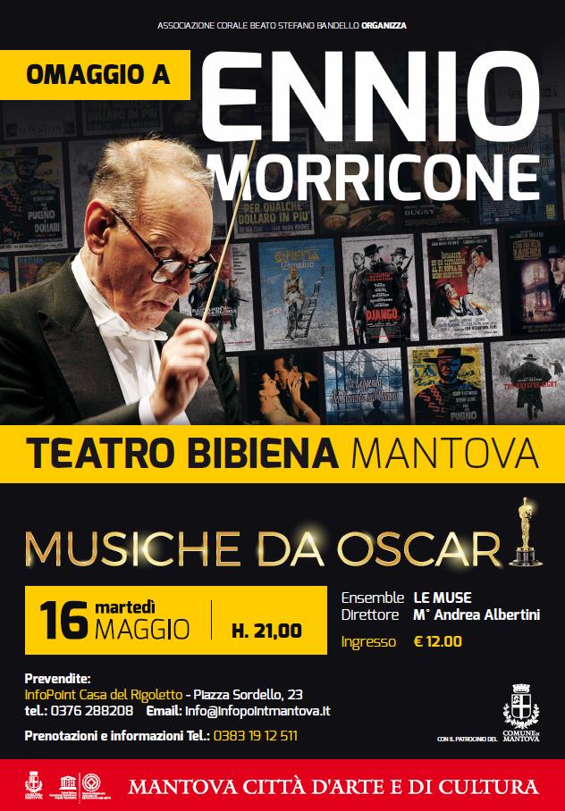 Concerto Omaggio al Maestro Ennio Morricone – Musiche da Oscar