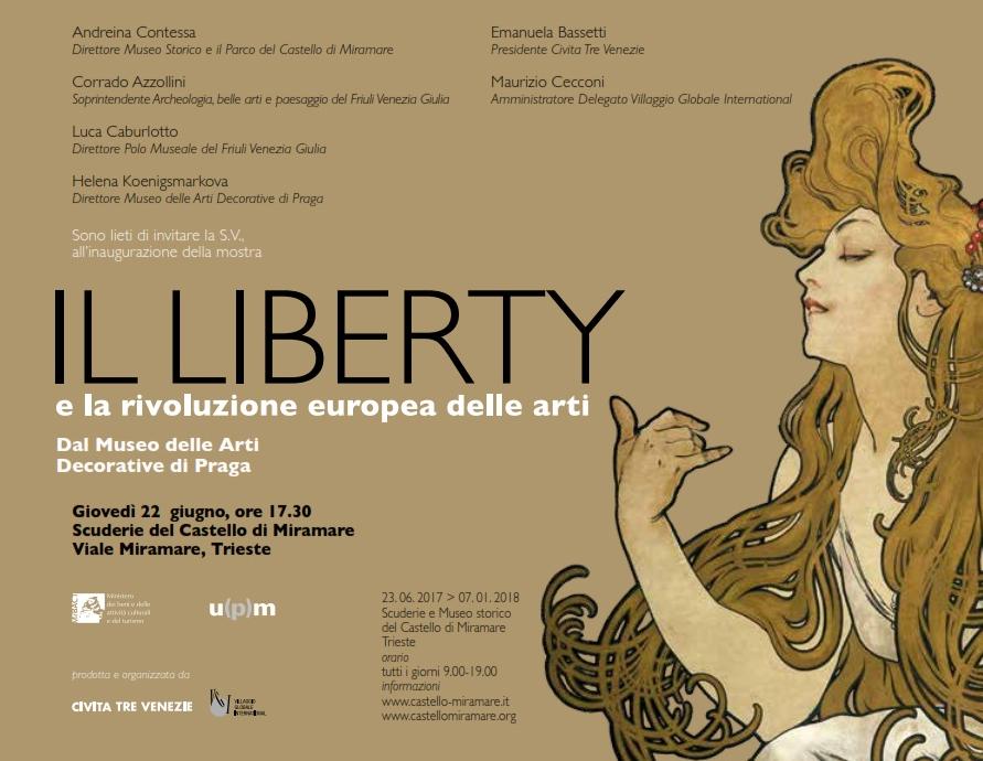 Mostra Il Liberty e la rivoluzione europea delle arti.