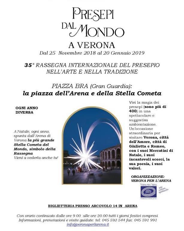 35^ rassegna internazionale PRESEPI DAL MONDO – Palazzo Gran Guardia