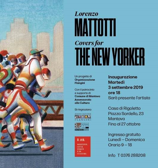 Lorenzo Mattotti covers for the new worker Mantova