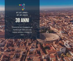 anniversario verona 83